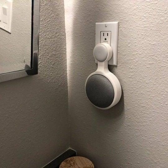 Google Home Mini Priz Tutucu Asma Stand Askı Aksesuar Aparatı