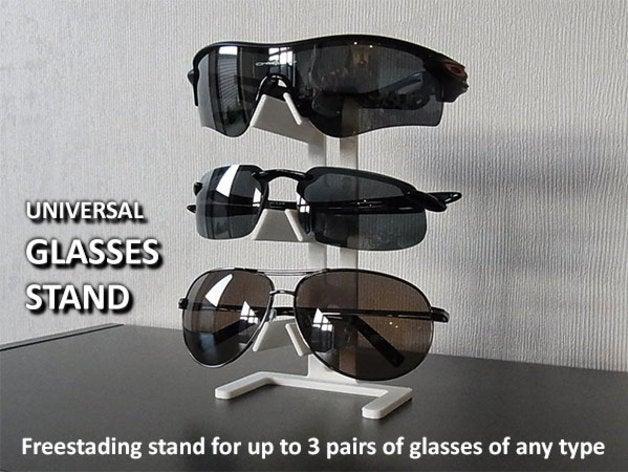 Universal Gözlük Asma Raf Aparatı