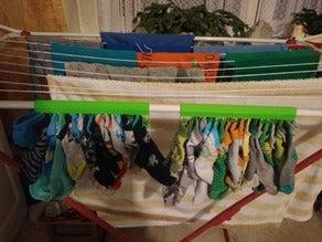 Kurutma Askısı Çorap Klips Çamaşırlık Aparatı Kurutma Asma Takma