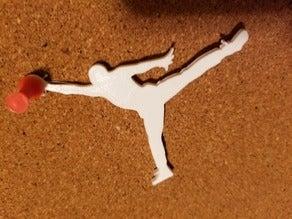 Michael Air Jordan Anahtarlık Dekoratif Biblo Dekor Hediyelik
