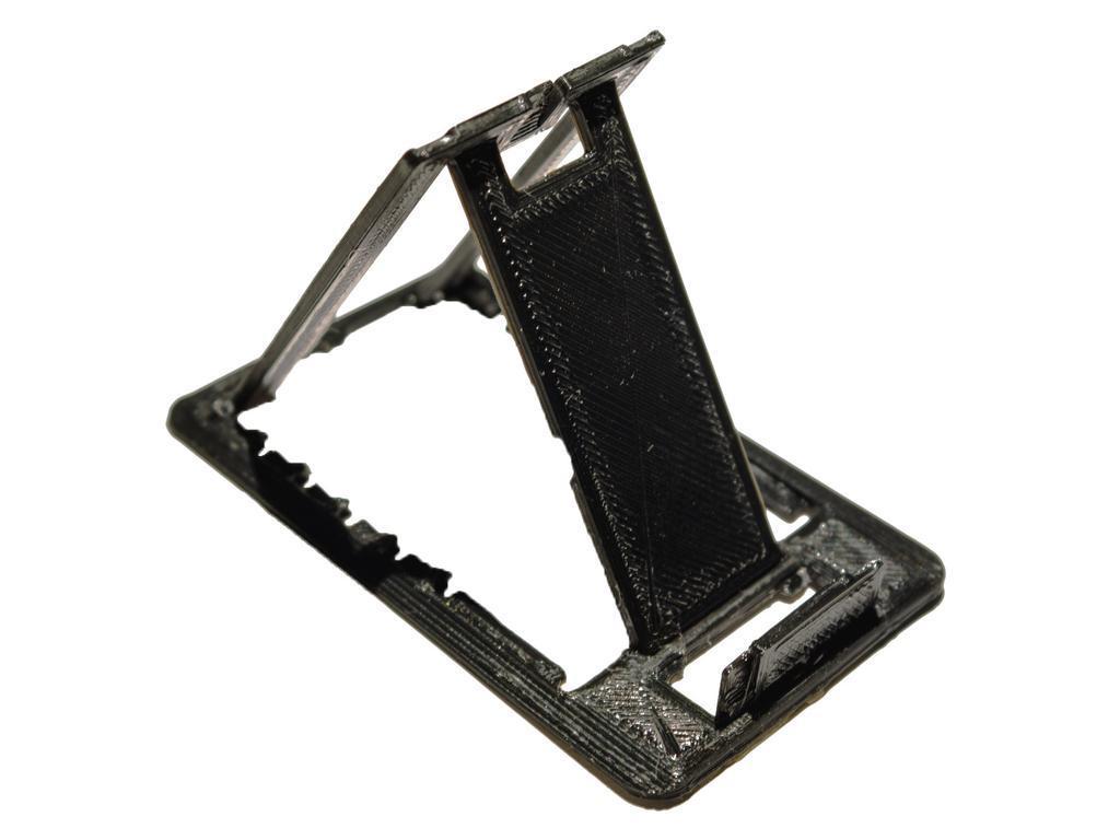 Kart Boyut Katlanır Telefon Standı Masaüstü Telefon Tutucu Kartlı