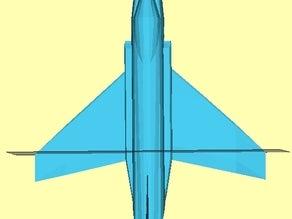 F-4 Hayalet Dekoratif Biblo Dekor Masaüstü Hediyelik Süs Eşyası