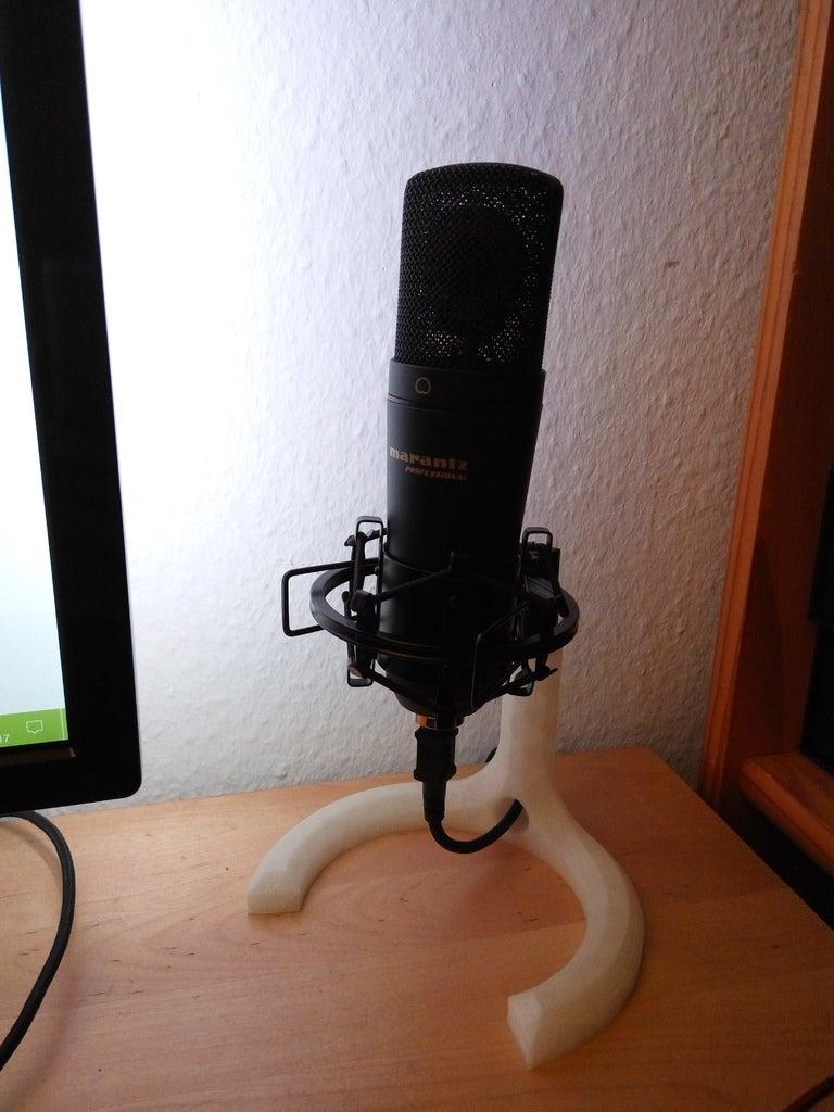"""5/8 """"dişli Mikrofon Standı"""