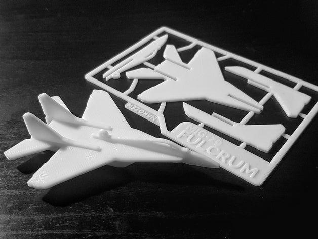 Mig 29 Şavaş Uçağı Kart Kit Biblo Uçak Maket