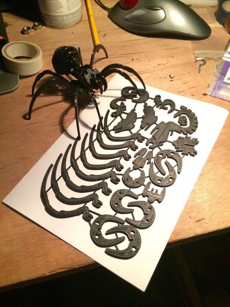 Örümcek Kiti Kart Dekoratif Biblo Dekor Hediyelik Süs Eşyası
