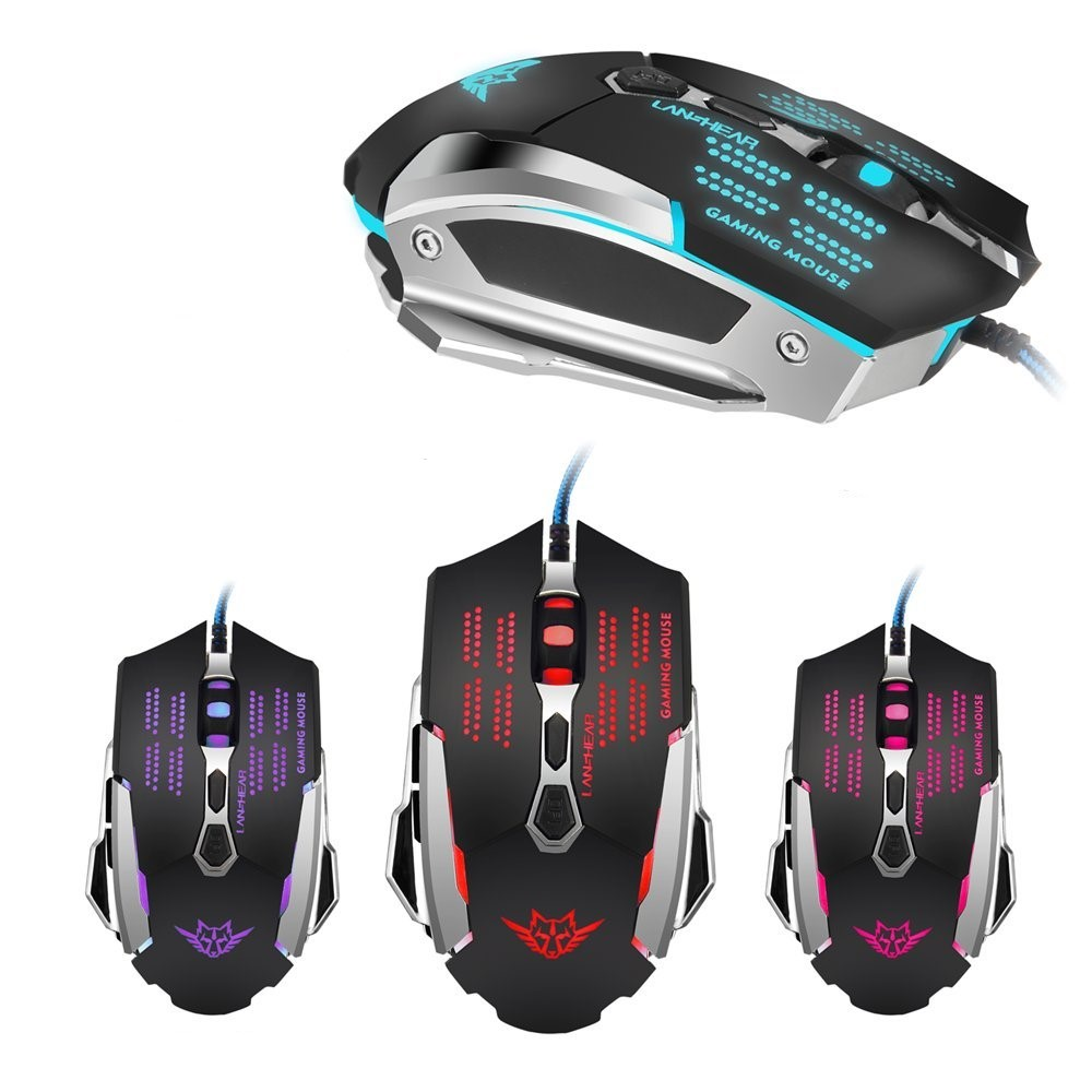 Gaming Mouse USB Işıklı Kablolu Gamepower Gamer Usb Fare Oyuncu