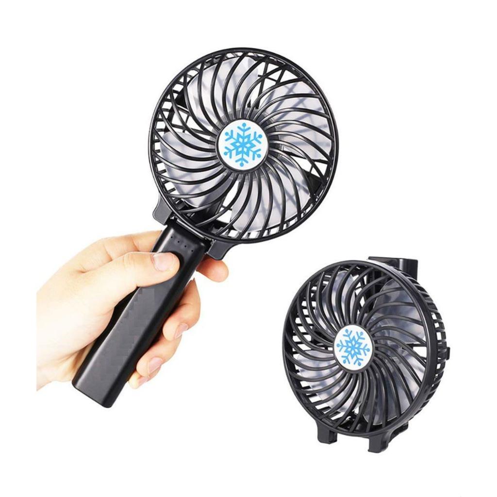 Şarjlı Mini Fan Masa Üstü Vantilatörü Usb Soğutucu Sessiz El Fanı