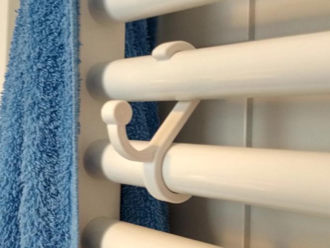 Banyo Havlu Askısı  2.5cm