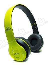 P47 Wireless Kulaklık Katlanabilir Ayarlanabilir Aux Giriş Şarjlı