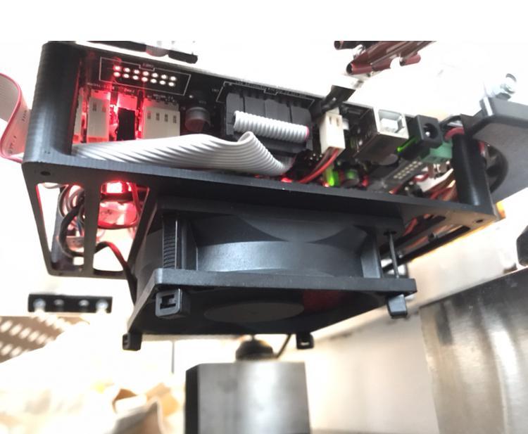 Velleman Vertex K8400 için 80mm Fan PCB Soğutucu  Aparat