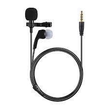 Kıskaçlı Yaka Mikrofonu Kulaklıklı Çekim Ses Kayıt Profesyonel