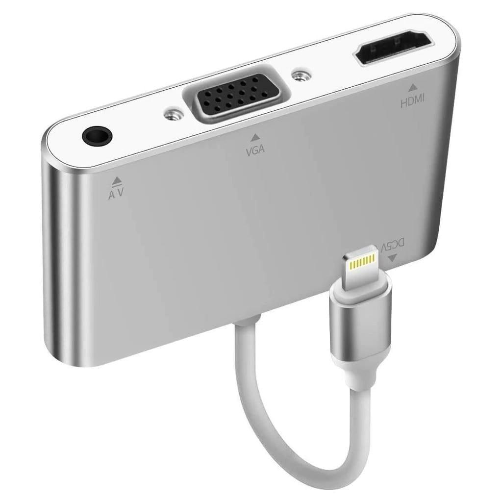 iPhone Lightning to Hdmi to Vga Audio Kablo Projeksiyon Görüntü
