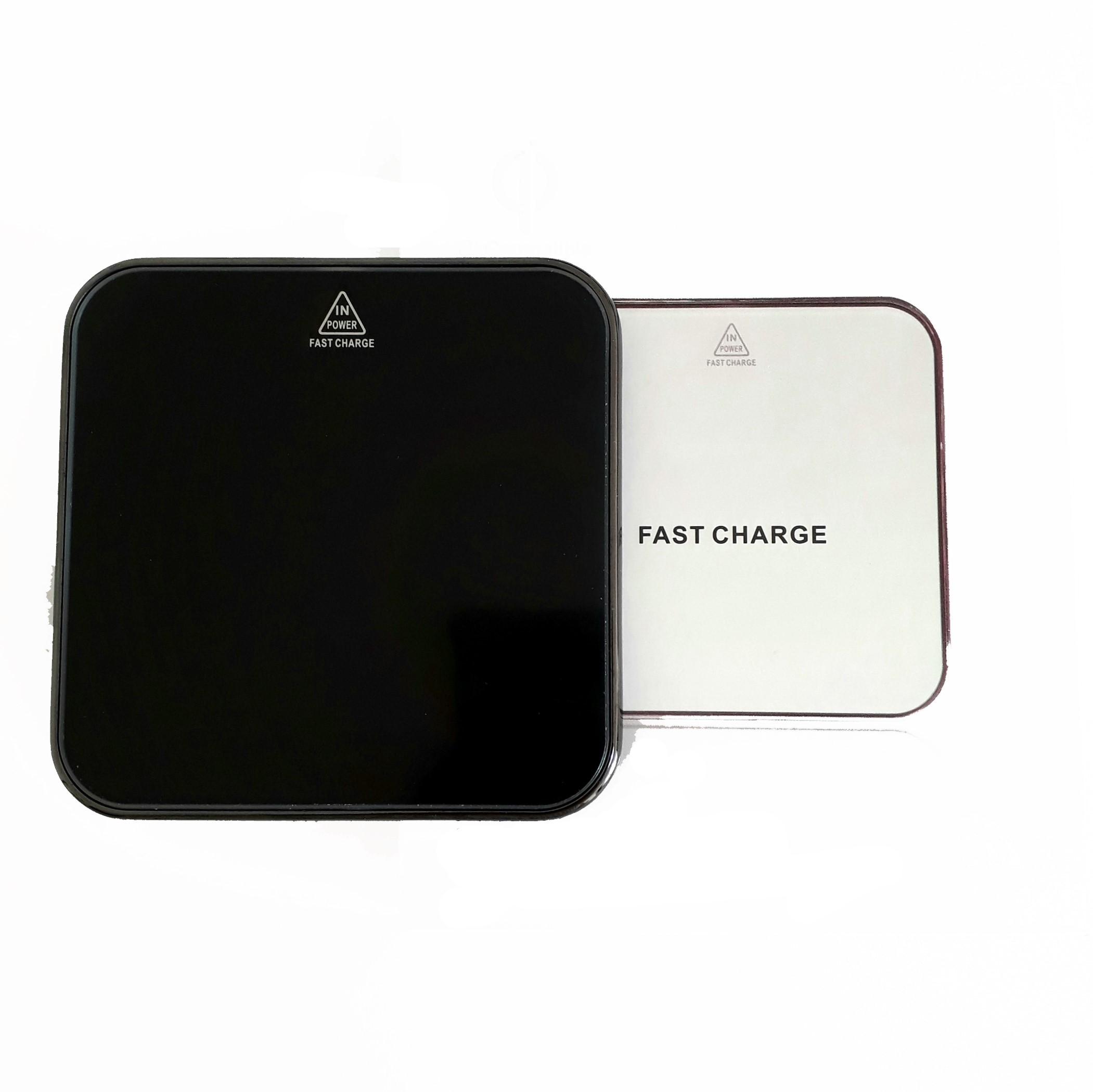 iPhone Samsung Kablosuz Temassız Hızlı Şarj Cihazı Aleti Masaüstü