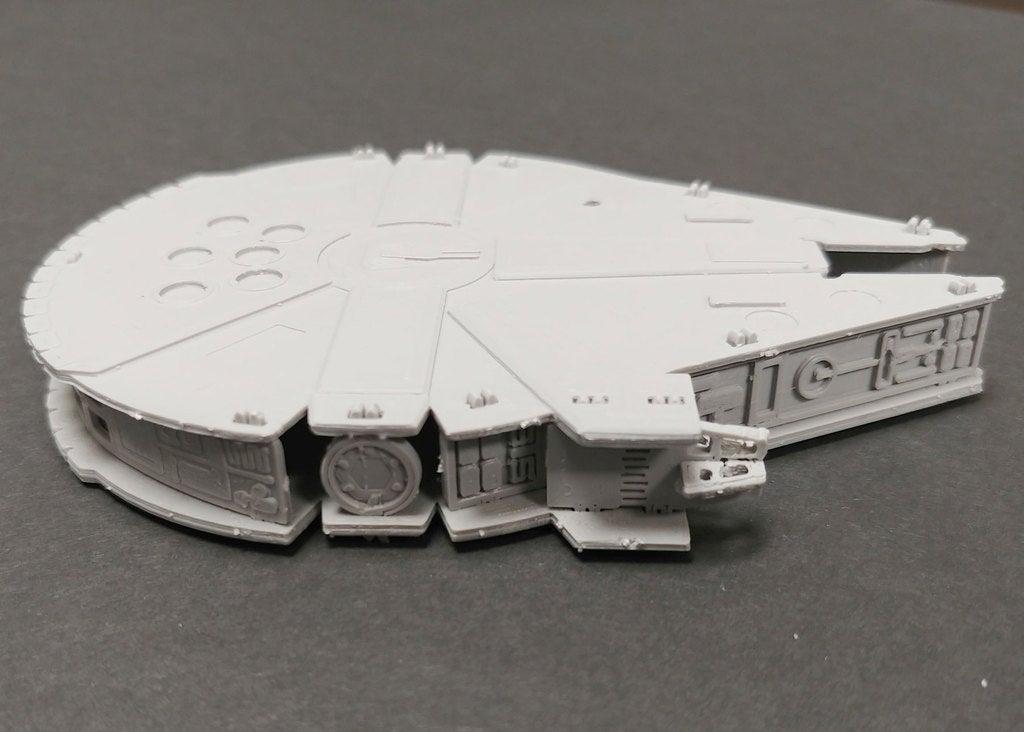 Millennium Falcon Kit Kartı Uçak Uzay Aracı Dekoratif Biblo Dekor