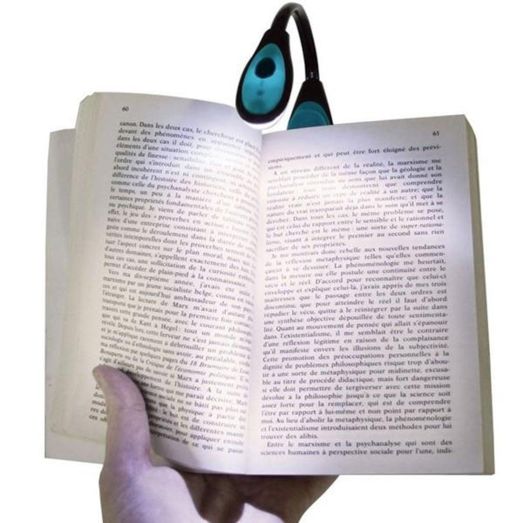 Kitap Okuma Lambası Led Book Light Kıskaçlı Işık Pilli Aydınlatma