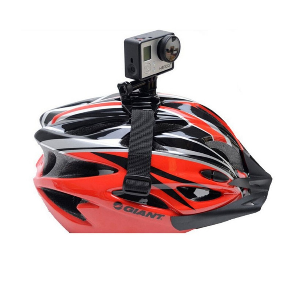 GoPro Hava Delikli Kask Aparatı Kamera Kafa Baş Head Go Pro