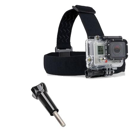 GoPro Aksiyon Kameralar için Kafa Baş Bandı Head Strap Go Pro