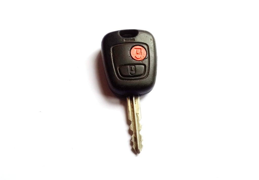 Peugeot R / C için Açma Düğmesi Kalıbı Yedek Parça Araba
