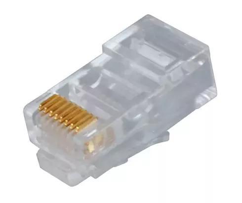 Rj45 Jack Cat5 İnternet Kablo Kablosu Ucu Konnektör Connector