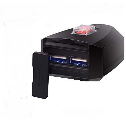 Motorsiklet Çift usb Telefon şarj cihazı elektrik kablolu CD-3018