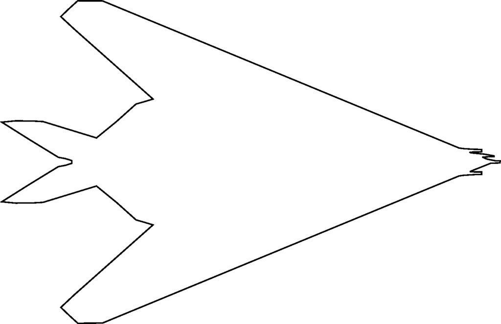 F-117 Nighthawk Uçak Kurabiye Kalıbı Çocuk Eğlence Oyun Hamuru