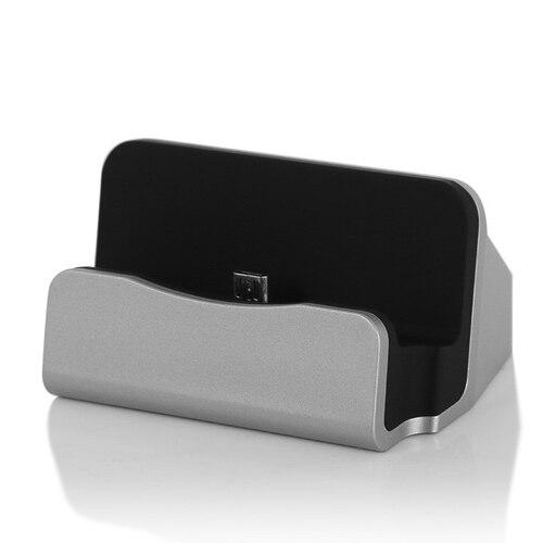 iPhone Samsung Uyumlu Masaüstü Dock Şarj Standı Şarjlı Stant Type