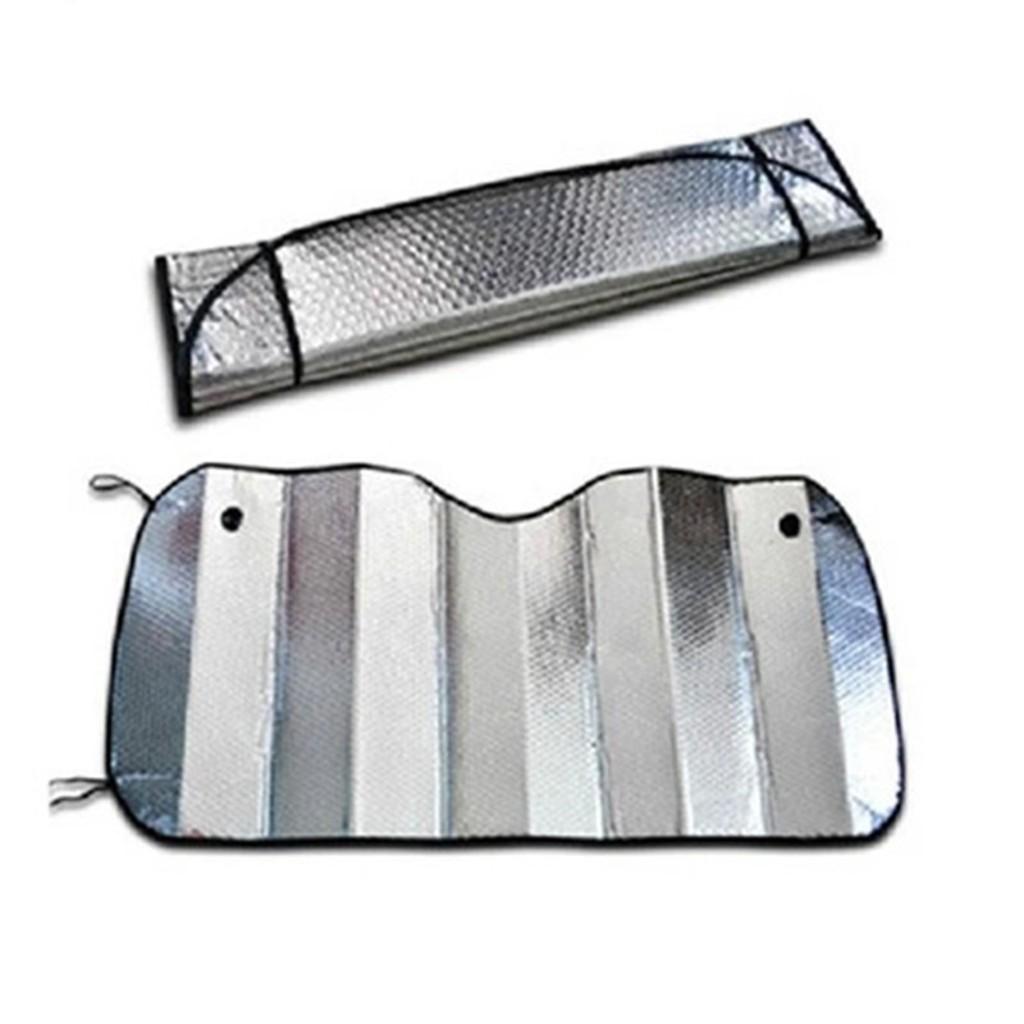 Araç Cam Güneşlik Balonlu Ön Arka Araba Oto Cam Vantuzlu 130x60