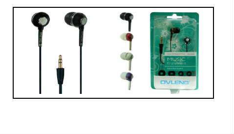 OVLENG Kulakiçi Kulaklık K16MP  3.5mm Giriş Telefon Bilgisayar