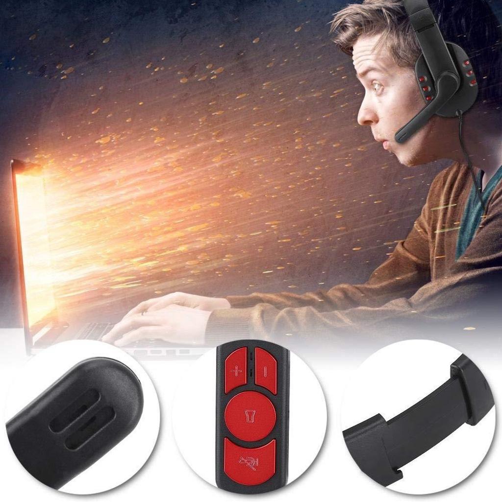 OVLENG Q7 Kulaküstü Oyuncu Kulaklığı Bilgisayar Gamer Kablolu Usb