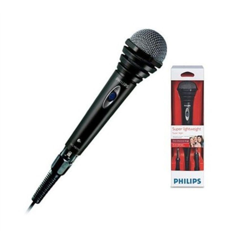 Philips SBCMD110/00 Kablolu Mikrofon Profesyonel Youtuber Aux