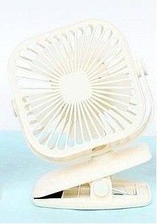 Masaüstü Şarjlı Işıklı Kademeli Kıskaçlı Fan Soğutucu Oynar Başlı