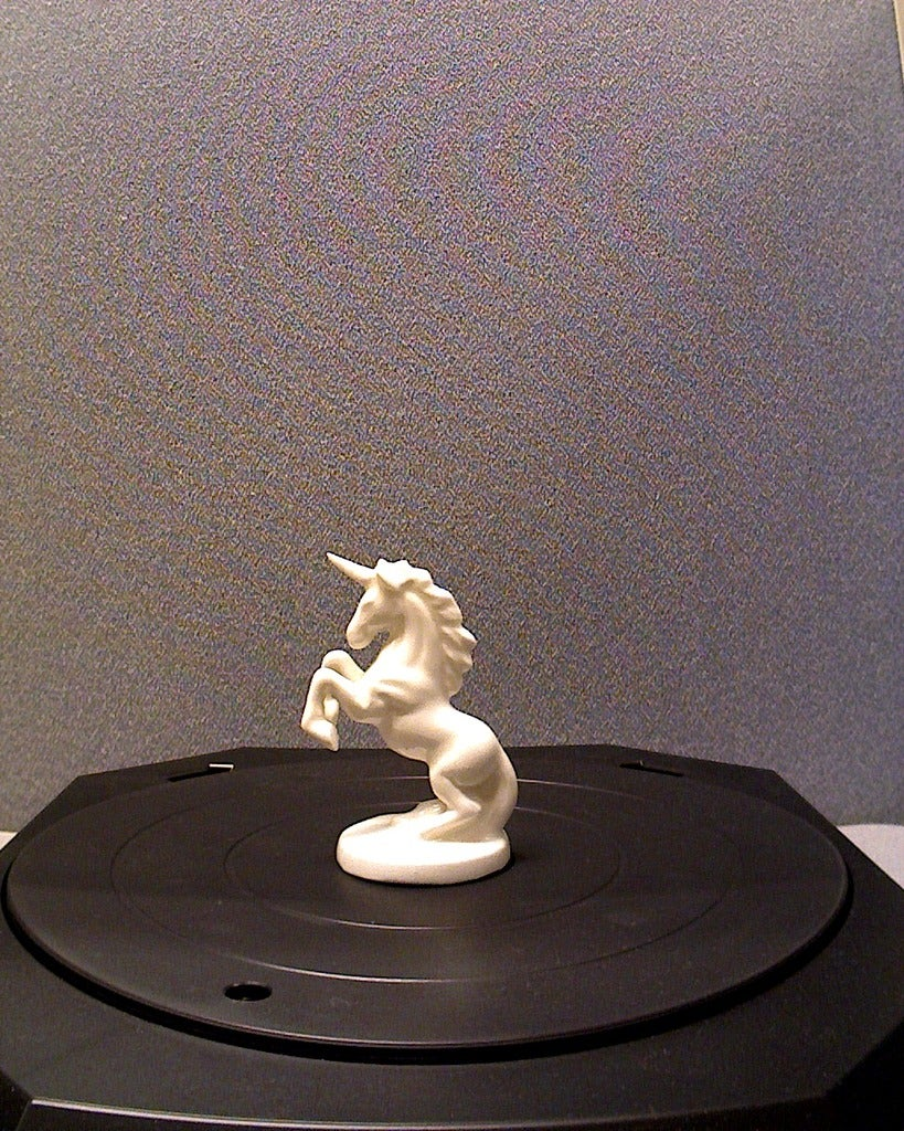 Unicorn At Masaüstü Dekoratif Biblo Dekor Hediyelik Süs Eşyası