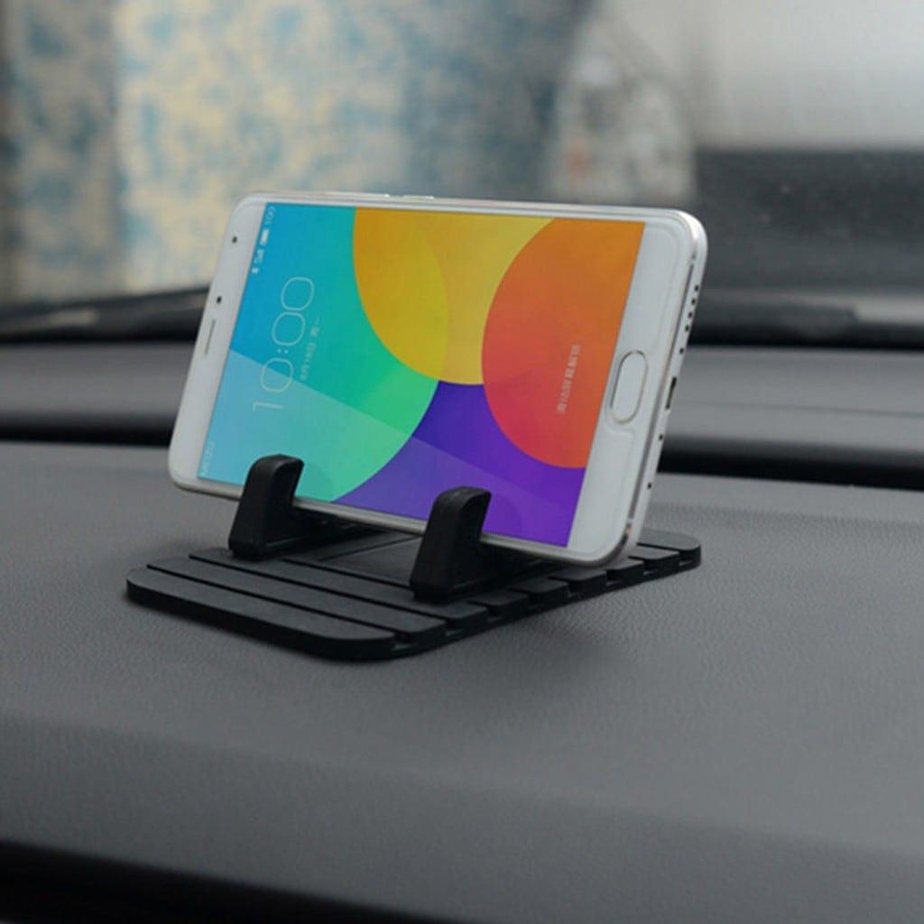 Araç İçi Torpido Masa Üstü Kaydırmaz Silikon Navigasyon Tutacağı