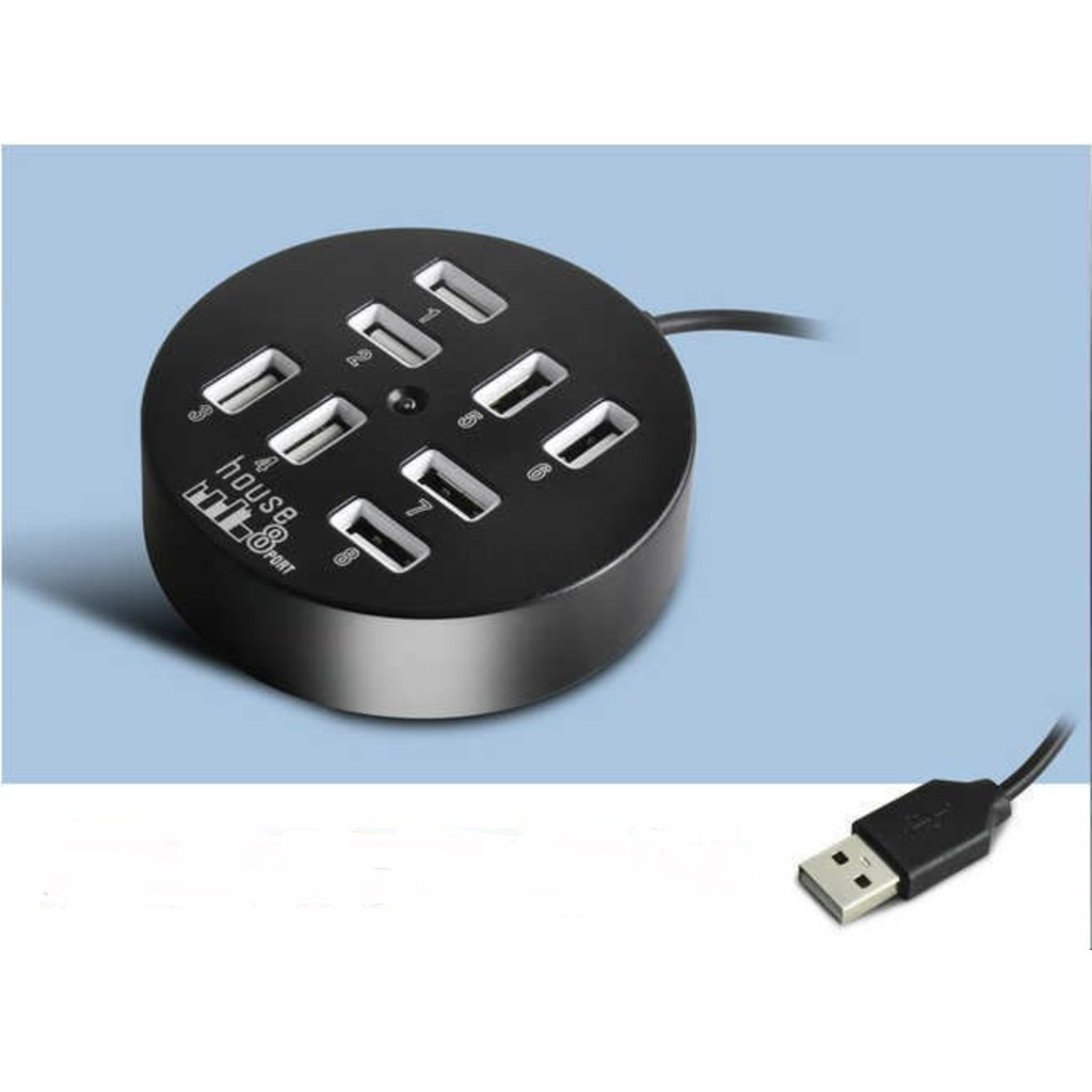 8Lİ USB 2.0 HUB Usb Çoklayıcı çoğaltıcı usb uzatıcı