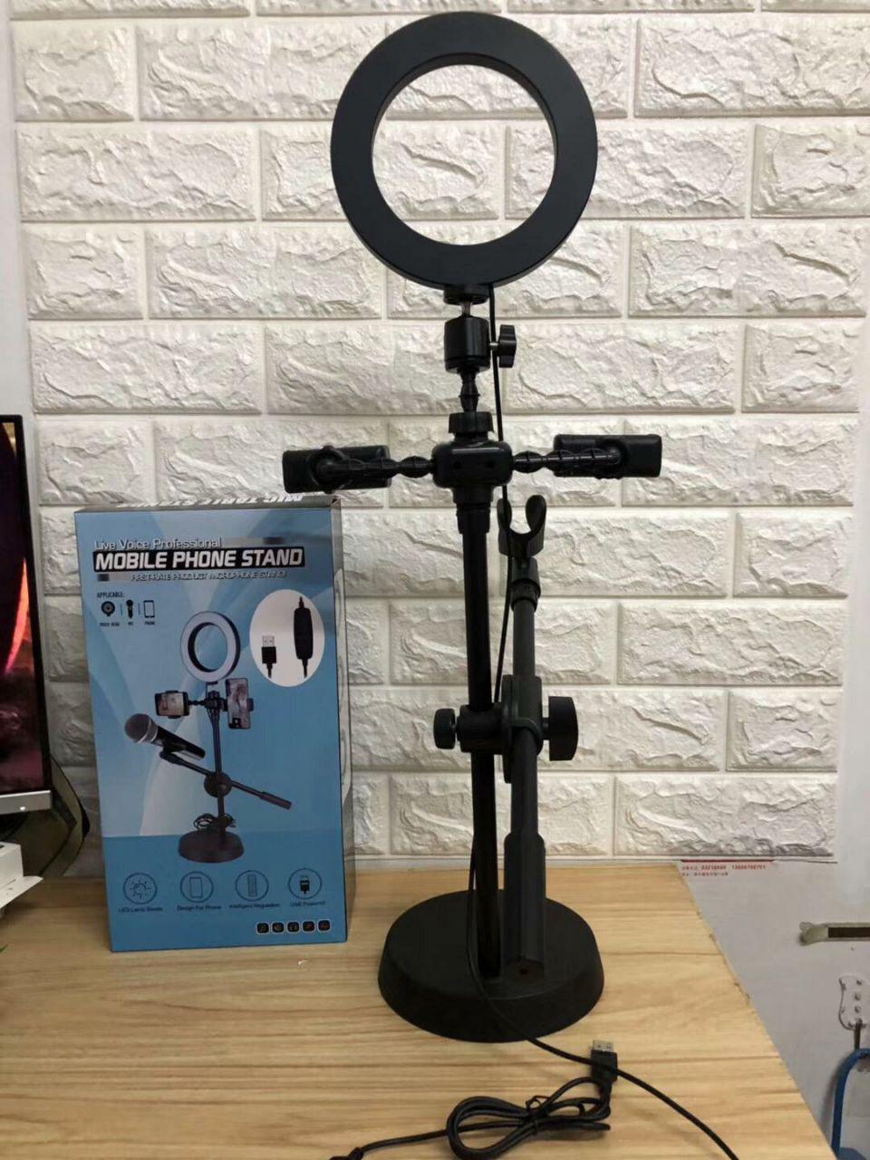 Profesyonel Cep Telefonu Standı FirstRate Ürün Mikrofon Standı