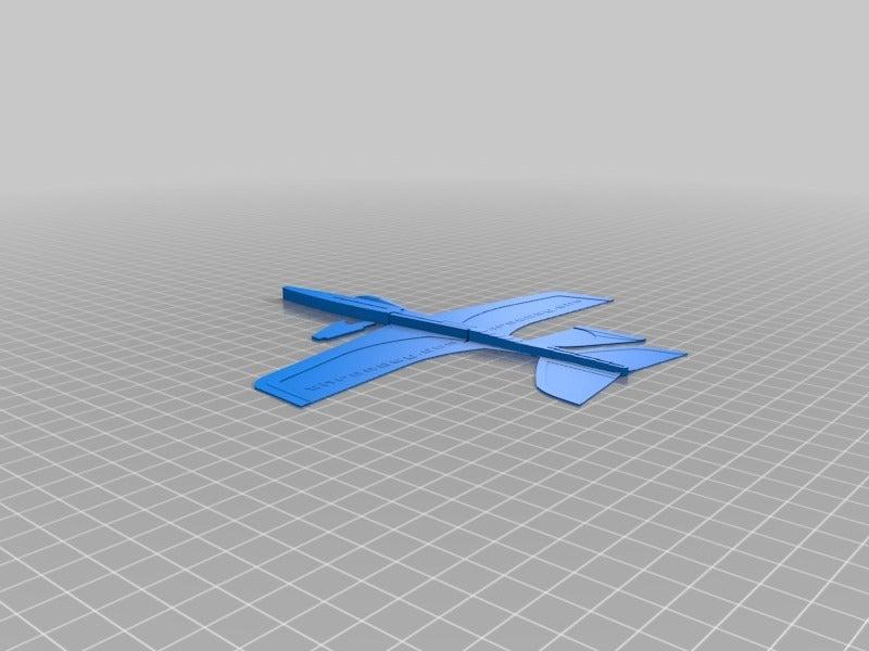 Beyaz Stratos Planör Oyuncak Uçak Hobi Oyuncağı Dekoratif