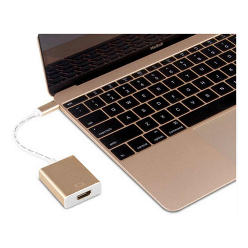 Type-C to HDMI Çevirici 4K USB 3.1 Çevirici Dönüştürücü Adaptör