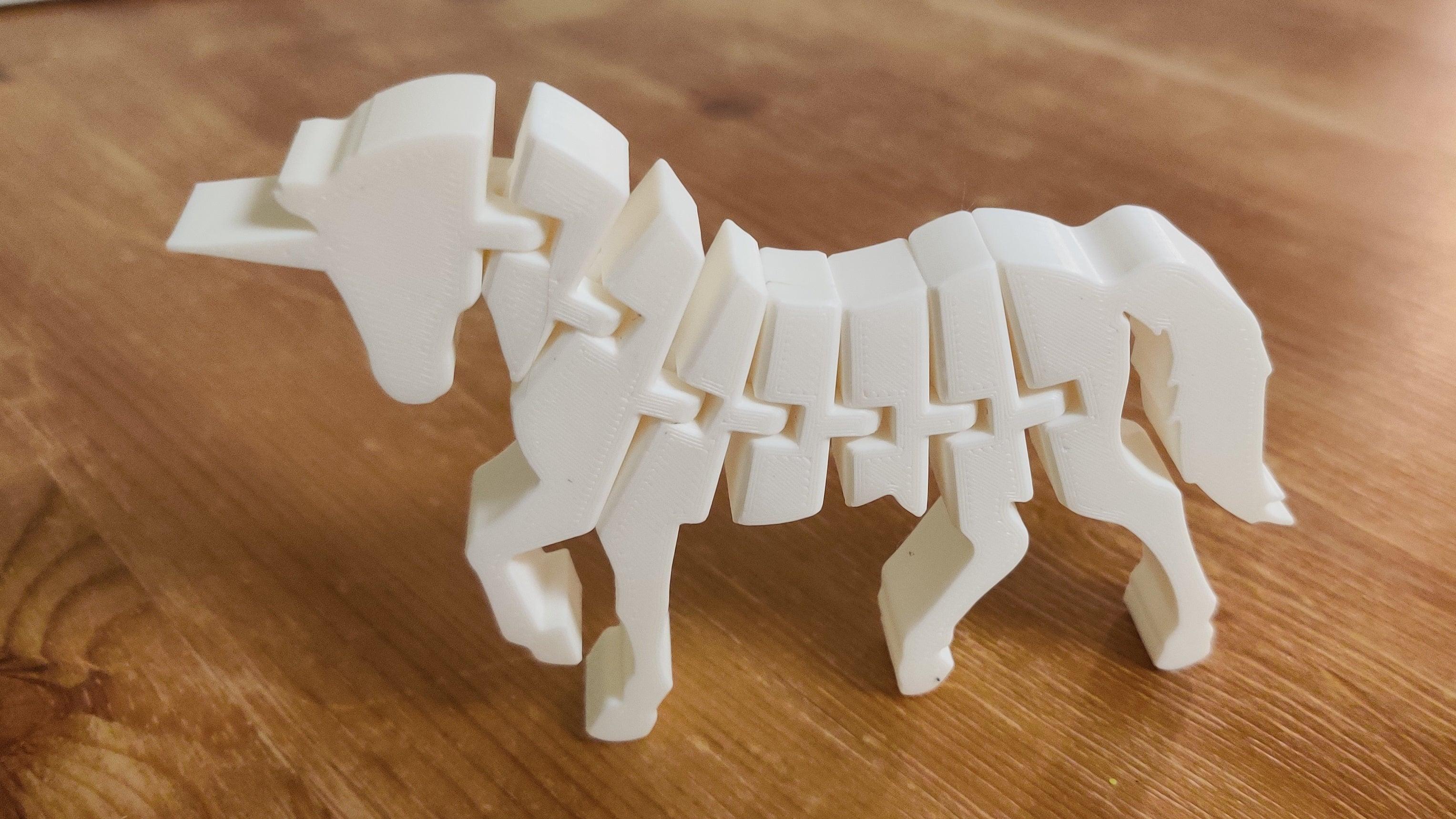 Hediyelik Unicorn At Hareketli Dekorasyon Dekoratif Biblo Dekor