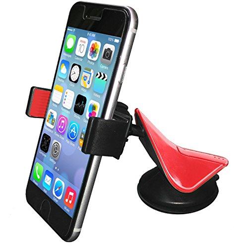 Universal Araç İçi Oto Telefon Tutucu Vantuzlu Kıskaçlı GPS