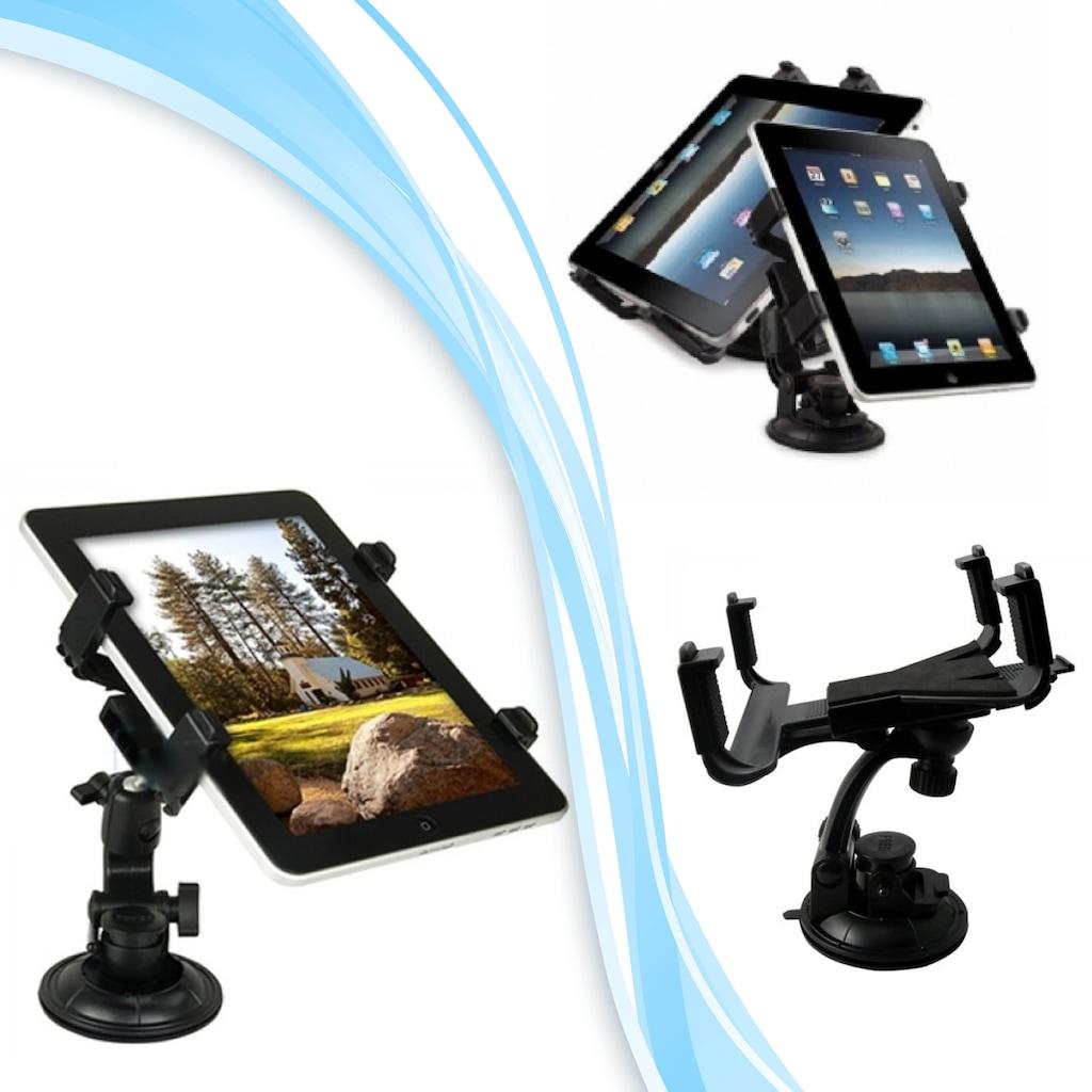 Universal Cama Yapışmalı iPad-Galaxy Tab-PDA Uyumlu Tablet Tutucu