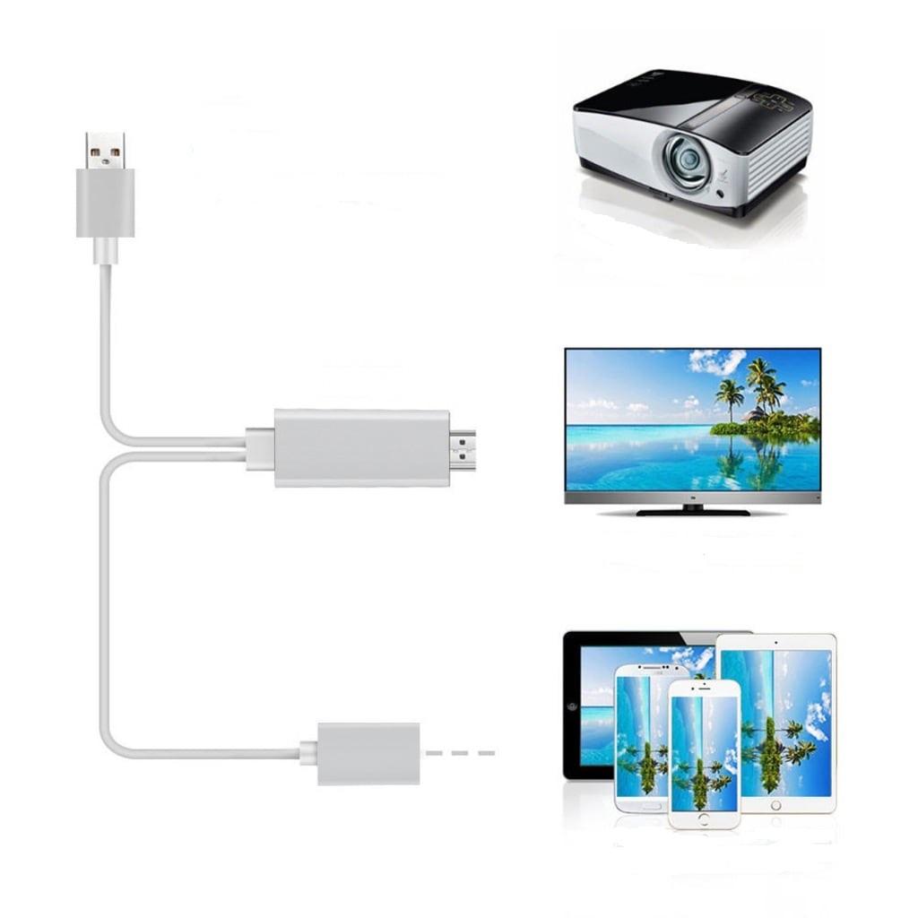 HDTV Görüntü Aktarma Kablosu İOS Android USB 3.0 Dönüştürücü