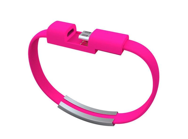 USB Bileklik iPhone Samsung Uyumlu Android Data ve Şarj Kablosu