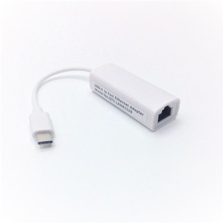Type C Ethernet Adaptör Wifi Alıcı Anten Adaptör Rj 45 Kablo Lan