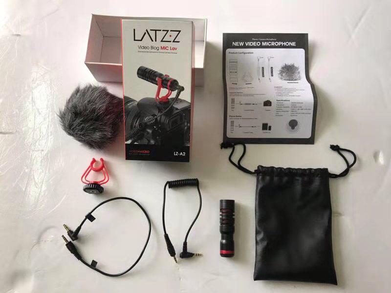 VideoMicro Dijital Kamera Mikrofonu Youtuber Profesyonel