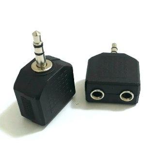 Walkman Adaptör 3,5mm Stereo Aux Çoklayıcı Kablo Dağıtıcı