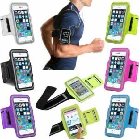 Yürüyüş Spor ve Koşu Kol Band Telefon Kılıfı Bantlı Çanta Kabı